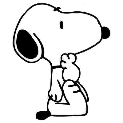 Snoopy_Sticker_Dog_From_Peanuts_Thinking_Vinyl_Decal